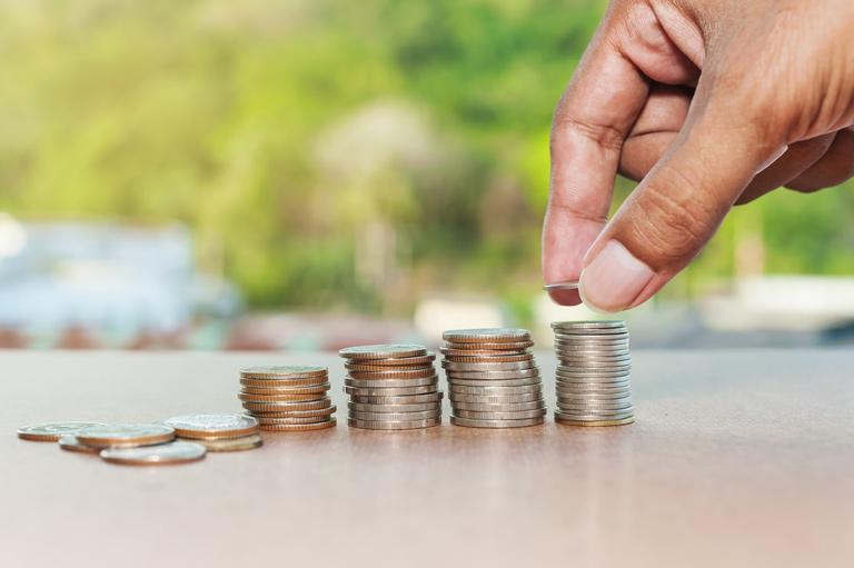 Układanie monet